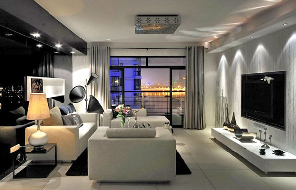 60平单身公寓平面设计图展示